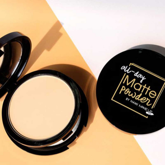 Nami แป้งผสมรองพื้น MakeUp Pro All-Day Matte Powder SPF30 PA+++
