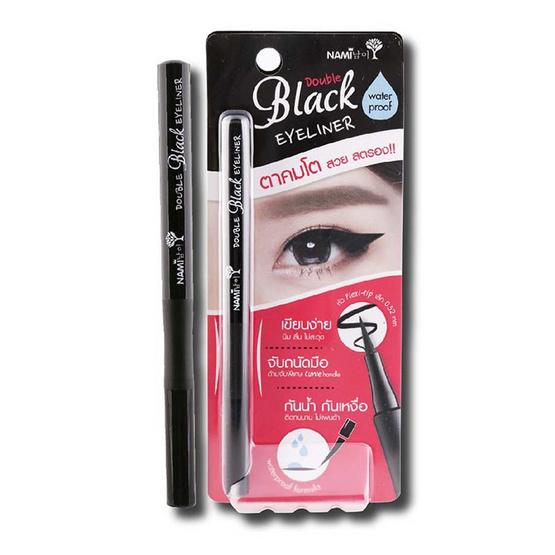 Nami Double Black Eyeliner 1 g อายไลน์เนอร์สีดำ
