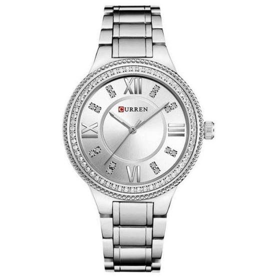 Curren นาฬิกาข้อมือผู้หญิง รุ่น C9004 เงิน