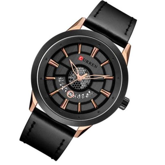 Curren นาฬิกาข้อมือผู้ชาย รุ่น C8330  ดำ