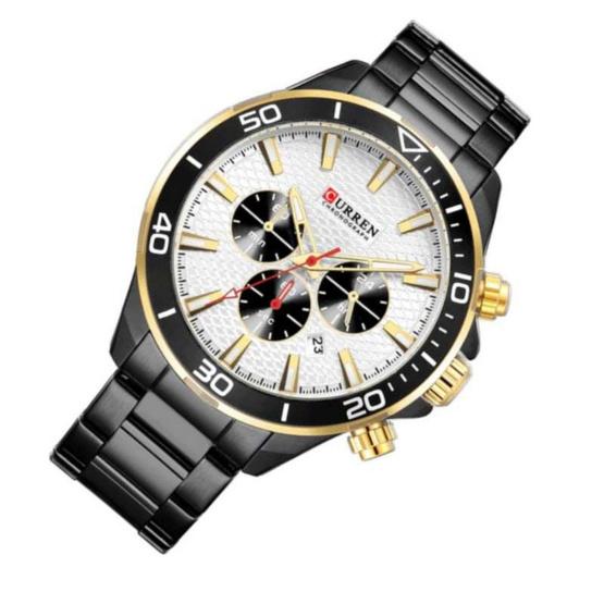 Curren นาฬิกาข้อมือผู้ชาย รุ่น C8309 ดำ/อง