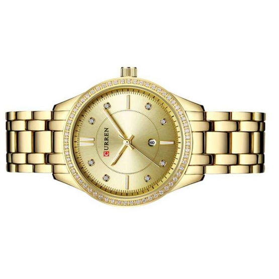 Curren นาฬิกาข้อมือผู้หญิง รุ่น C9010 ทอง