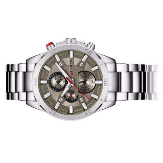 Curren นาฬิกาข้อมือผู้ชาย รุ่น C8275 เงิน