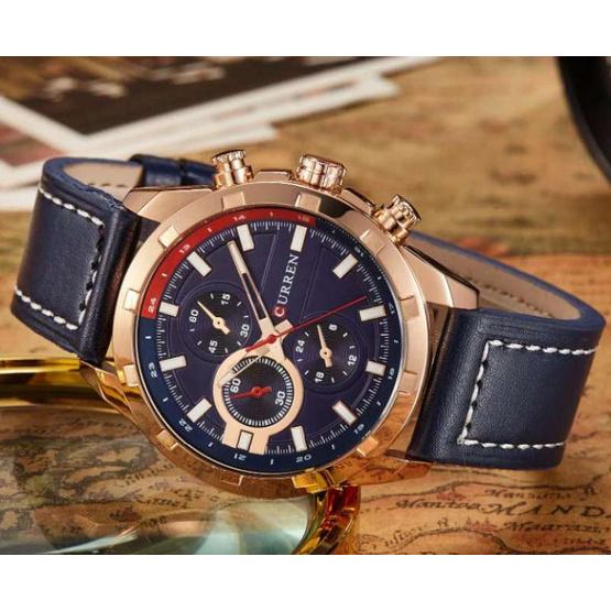 Curren นาฬิกาข้อมือผู้ชาย รุ่น C8216 น้ำเงิน