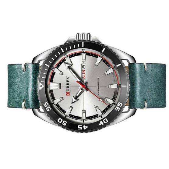 Curren นาฬิกาข้อมือผู้ชาย รุ่น C8272 เขียว