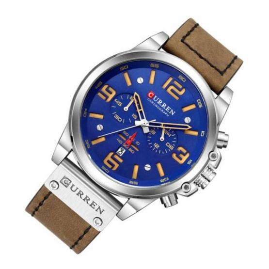 Curren นาฬิกาข้อมือผู้ชาย รุ่น C8314 น้ำตาล/กรม