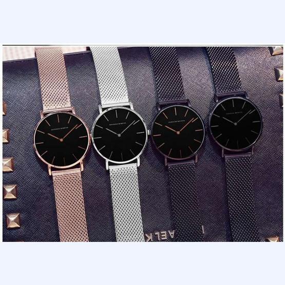 HANNAH MARTIN นาฬิกาข้อมือผู้หญิงสายสแตนเลส รุ่น HMCH36