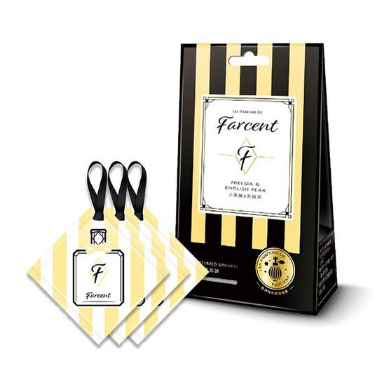 Farcent LPF ถุงหอมปรับอากาศ ฟรีเซีย อิงลิชแพร์ 3 ชิ้น/แพ็ค