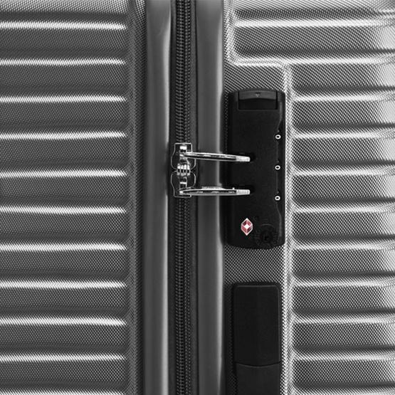 AMERICAN TOURISTER กระเป๋าเดินทาง (25นิ้ว) รุ่น ELLEN SPINNER 68/25 TSA GREY
