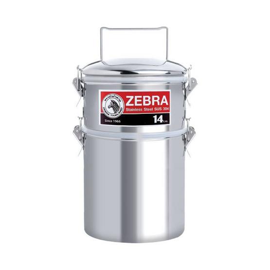 Zebra ปิ่นโต 14x2 Smart Lock รุ่น Jumbo