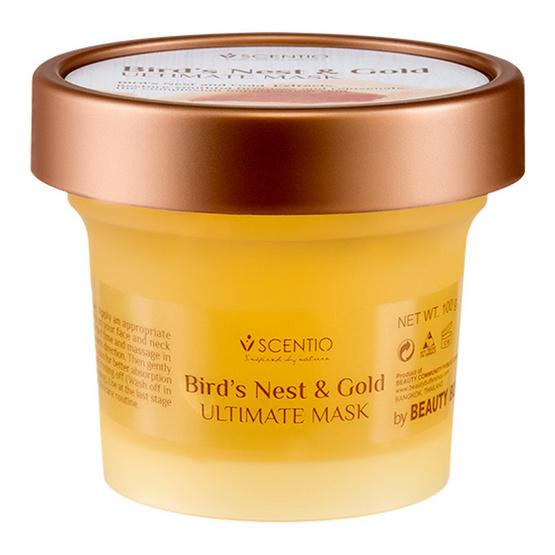 Scentio Bird's Nest & Gold Ultimate Mask มาส์คเบริ์ดเนส&โกล์ด
