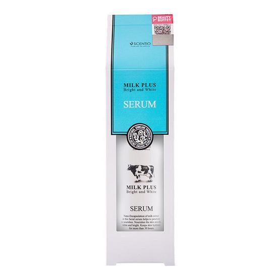 Scentio Milk Plus Bright & White Serum มิลพลัสเซรั่มไบร์ท & ไวท์