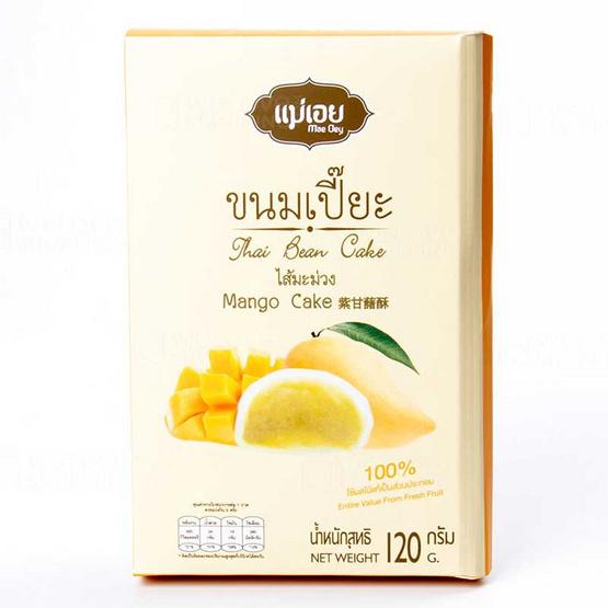 แม่เอย ขนมเปี๊ยะ 6 ชิ้น ไส้มะม่วง 120 กรัม