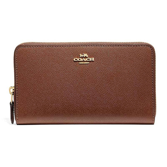 COACH F37544 CONTINENTAL ZIP AROUND WALLET (IMEB0) [MCF37544IMEB0]