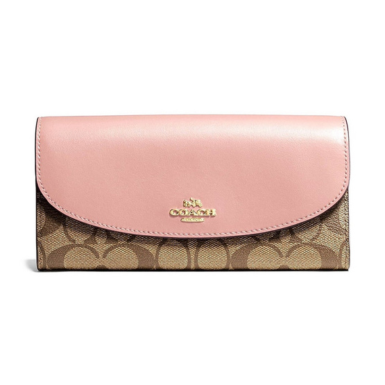 COACH F54022 SLIM ENVELOPE WALLET IN SIGNATURE (SVAVK) [MCF54022SVAVK]