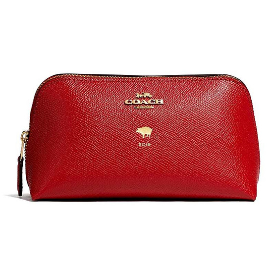 COACH F58548LUNAR NEW YEAR COSMETIC CASE 17 (IMDN8) [MCF58548IMDN8]