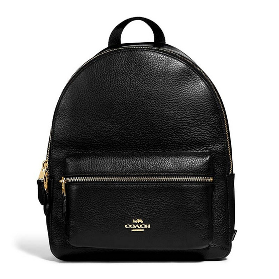 COACH F30550 MEDIUM CHARLIE BACKPACK (IMBLK) [MCF30550IMBLK]