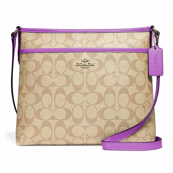 COACH F29210 FILE CROSSBODY IN SIGNATURE CANVAS (IMOG8) [MCF29210IMOG8]