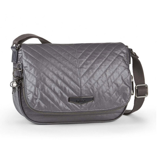 Kipling Earthbeat S - Shiny Grey [MCK23485V66]