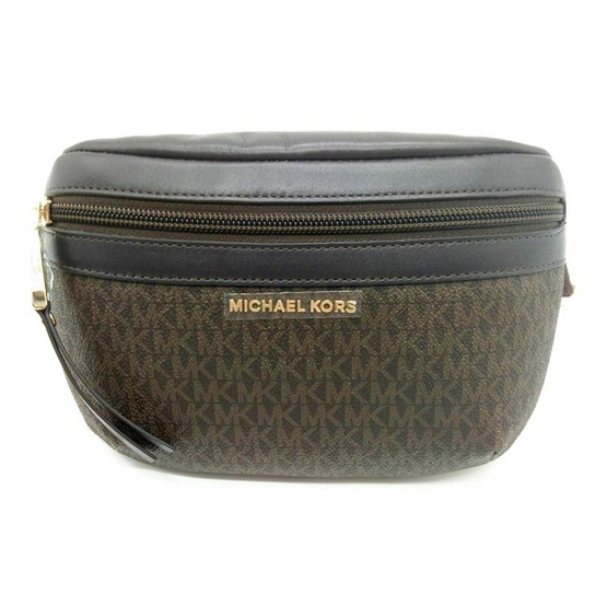 MICHAEL KORS 551702 Signature Fanny Pack (BRN) [MC551702BRN]