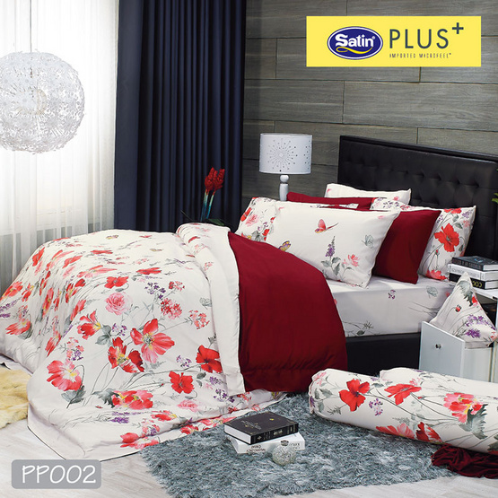 Satin Plus ผ้าปูที่นอน PP002