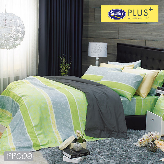 Satin Plus ผ้าปูที่นอน PP009