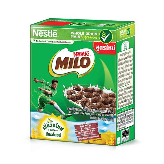 เนสท์เล่ ไมโล ซีเรียลอาหารเช้า 25 กรัม (แพ็ก 12 กล่อง)
