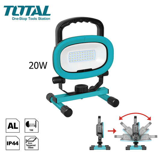 Total ไฟสปอร์ตไลท์ LED ตั้งพื้น รุ่น TLP 20202