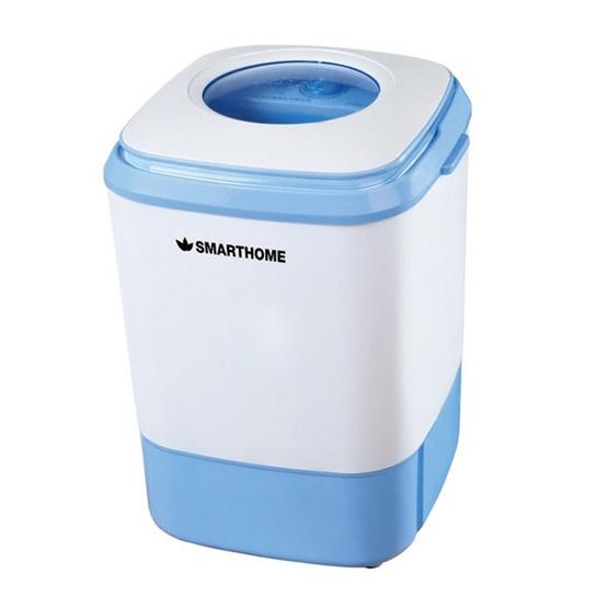 Smarthome Ecio เครื่องซักผ้ามินิกึ่งอัตโนมัติความจุ 4 กก. รุ่น sm-wm2502