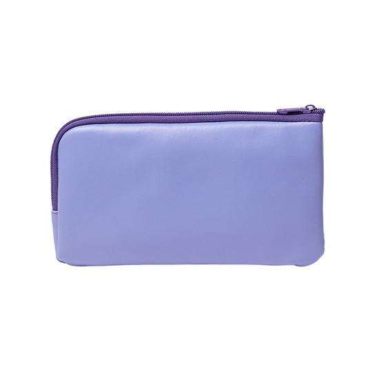 กระเป๋าดินสอ ลายฝีพระหัตถ์ สีม่วง