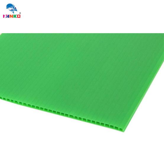 PANKO แผ่นฟิวเจอร์บอร์ด65x122ซม.หนา3มม. สีเขียวอ่อน