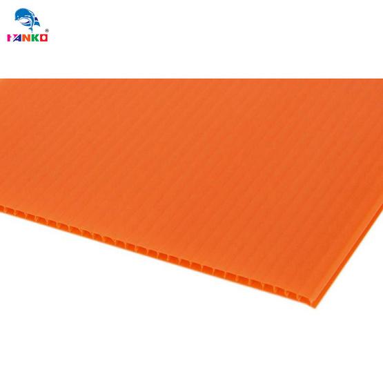PANKO แผ่นฟิวเจอร์บอร์ด65x122ซม.หนา3มม. สีส้ม