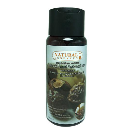 Natural Essences แชมพูประคำดีควายผสมน้ำมันงา 250มล.