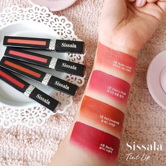Sissala Lip Tint #01 Nude Coral สีพีช