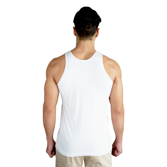 Double Goose ตราห่านคู่ เสื้อกล้าม สีขาว รุ่น Classic