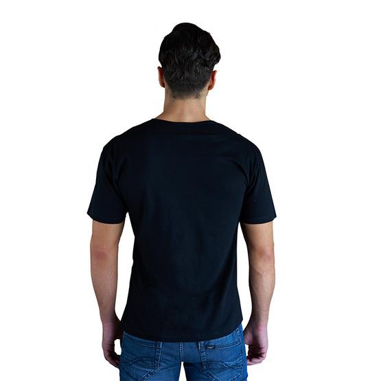 Double Goose ตราห่านคู่ เสื้อคอกว้าง สีดำ รุ่น Classic