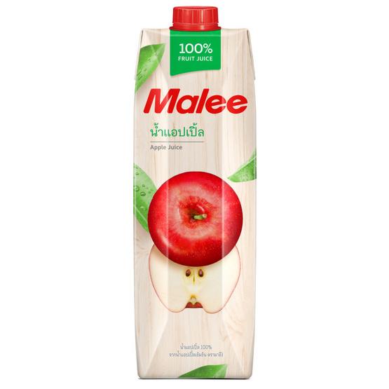 มาลี น้ำแอปเปิ้ล 100% 1000มล. ยกลัง12กล่อง