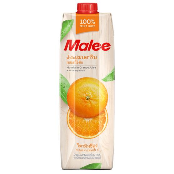 มาลี น้ำส้มแมนดาริน 100% 1000มล. ยกลัง12กล่อง