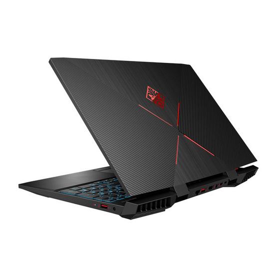 HP โน๊ตบุ๊ค OMEN 15-dc1041TX Shadow Black