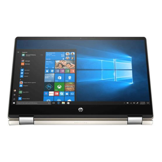 HP โน๊ตบุ้ค Pavilion x360 14-dh0075TX Gold