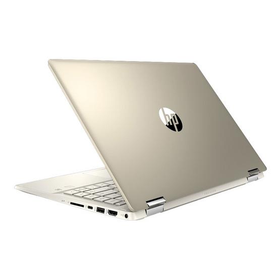 HP โน๊ตบุ้ค Pavilion x360 14-dh0080TX Gold