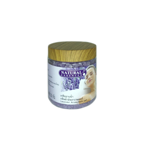 Natural Essences เกลืออาบน้ำ กลิ่นน้ำมันลาเวนเดอร์ 250ก.