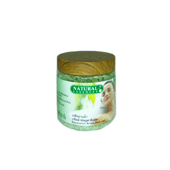 Natural Essences เกลืออาบน้ำ กลิ่นน้ำมันยูคาลิปตัส 250ก.
