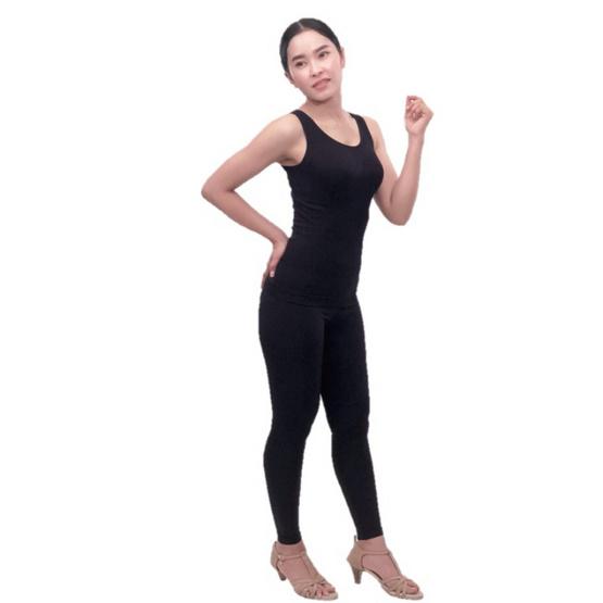 Lalita ชุดกระชับสัดส่วนขายาว รุ่น สลิมมิ่งเลคกิ้ง+เสื้อกล้าม 1 แถม 1