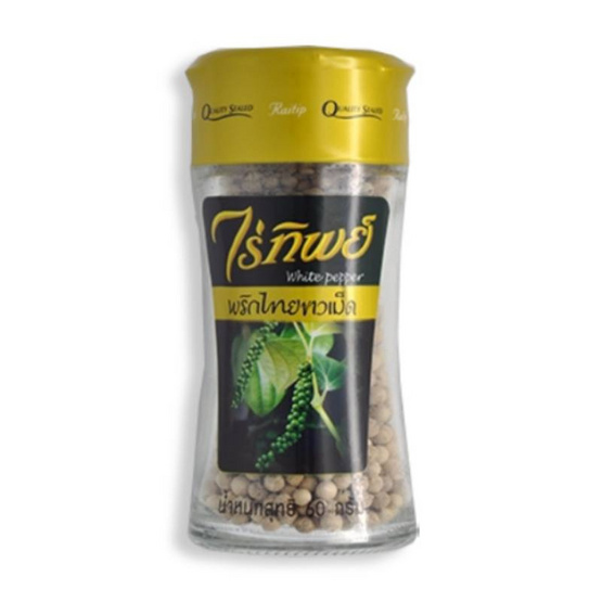 ไร่ทิพย์ พริกไทยขาวเม็ดขวดเชพ 60กรัม