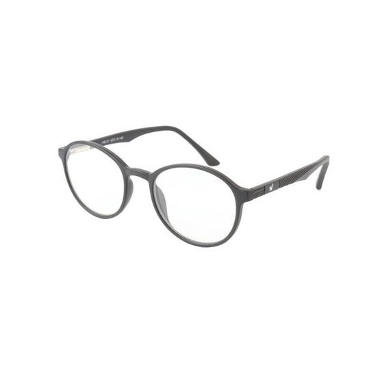 Bewell แว่นตัดแสงสีฟ้าผู้ใหญ่ ตัดแสงสีฟ้า 60% กรอบกลม ฟรี! กล่องแว่น รุ่น HB-01