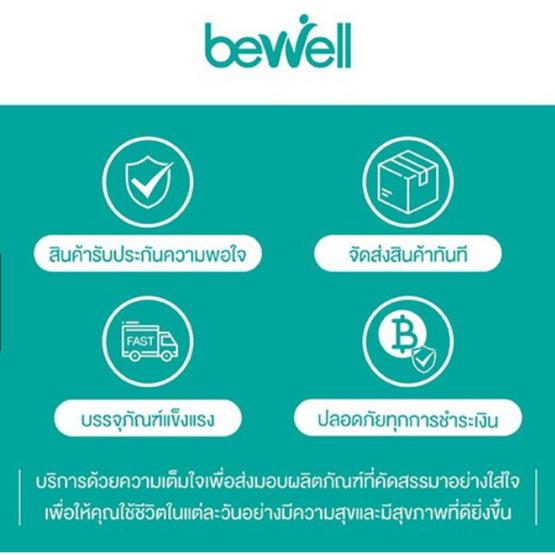 Bewell  เซ็ต Travel ดีต่อใจ กระเป๋าอาบน้ำ + เซ็ตกระเป๋าจัดระเบียบ 4 ใบ