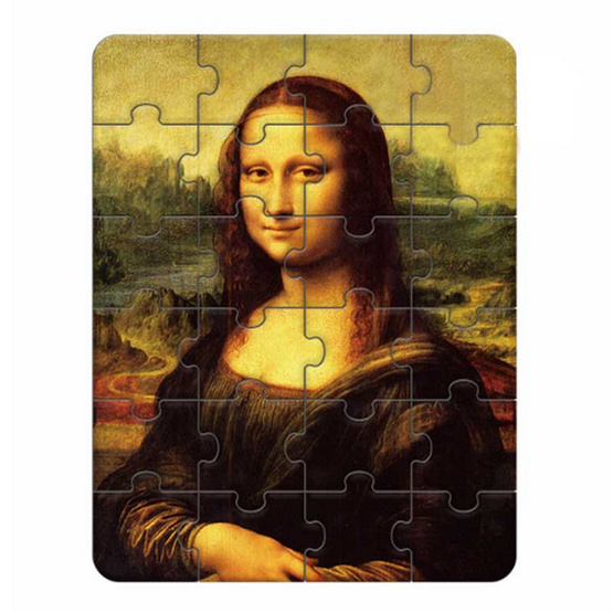 Mideer จิ๊กซอร์เสริมทักษะภาพศิลปะ ชุด Mona Lisa