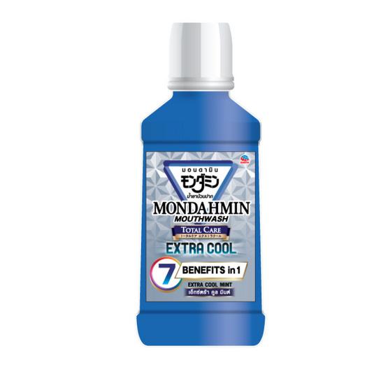 MONDAHMIN น้ำยาบ้วนปาก โททอลแคร์ เอ็กซ์ตร้า คูล มินต์ 90 มล.