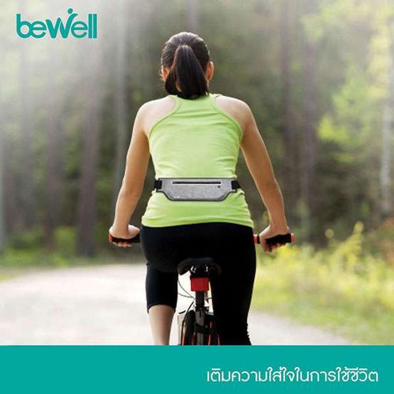 Bewell กระเป๋าออกกำลังกาย เนื้อผ้าบางกระชับ ขนาดกว้าง ใส่ Note 9 ได้ รุ่น S-11